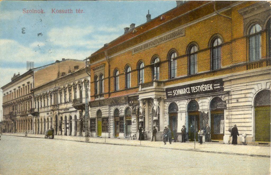 Pénzügyi palota Szolnok - képeslaptár