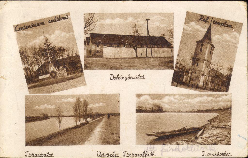 Tiszaroff képeslap